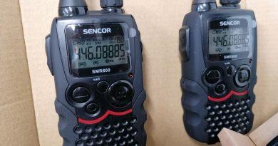 Jakou vysílačku na pásmo PMR?